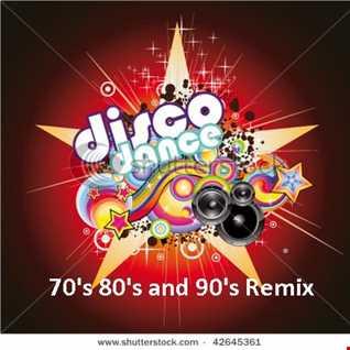 Disco Dance 70' 80' 90' remix