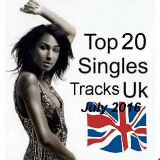 Top 20 UK Chart Tracks July 2016