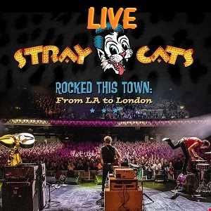 STRAY  CATS  LIVE  /  BRIAN  SETZER