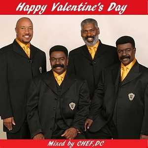 "HAPPY  VALENTINE ' S  DAY with  "" The Whispers """