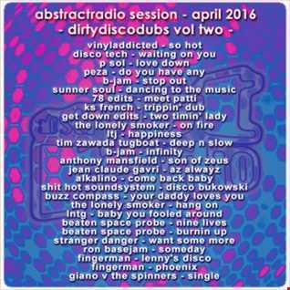 abstractradio dirtydiscodubs vol two