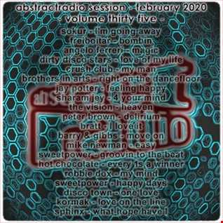 abstractradio session thirty five