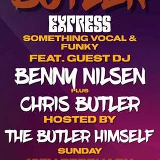 DJ Chris Butler - Butler Express feat special guest Benny Nilsen - Funky Disco