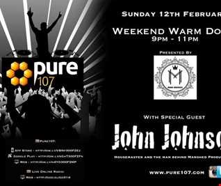 Mark  Maddox - The Weekend Warm Down Plus Special Guest John Johnson Live On Pure 107 12.02.2017