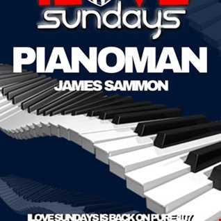 Dave Bolton presents ILOVE SUNDAYS on Pure 107 feat PIANOMAN 25.03.18