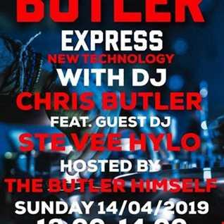 Chris Butler   The Butler Express (New Technology) feat. Ste Vee Hylo 14.04.2019