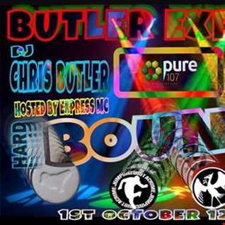 Chris Butler feat. Express MC - Butler Express feat DJ Hard n Fast on Pure 107 01.10.2017