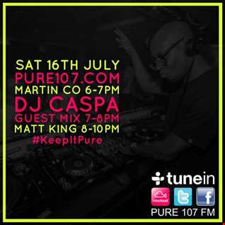 DJ Caspa Exclusive Guest Mix Live On Pure 107 16.07.2016