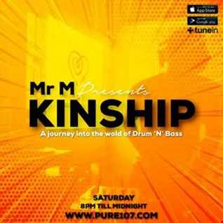 Mr M - Kinship live on Pure 107 Saturday 4th January 2020