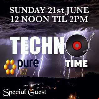 THE BUTLER - TECHNO TIME  with special guest LOVELLE