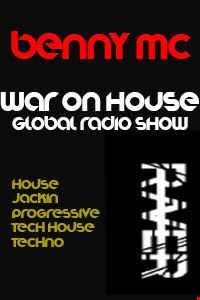 WAR ON HOUSE RADIO Recorded Live @ Pure107.com   TECH HOUSE
