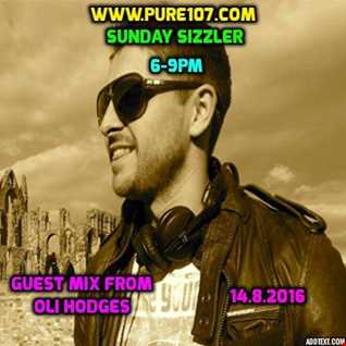 Eddie Bee - Sunday Sizzler Feat. Guest Mix From Oli Hodges Live On Pure 107 14.08.2016