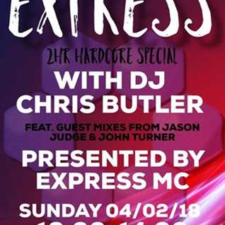 DJ Chris Butler and Express MC present The Butler Express with special guests John Turner and Jason Judge