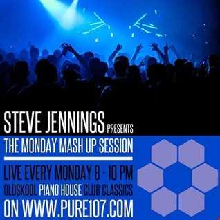 The Monday Mash-Up - Steve Jennings Live On Pure 107 26.09.2016
