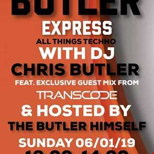 DJ Chris Butler with special guest Transcode