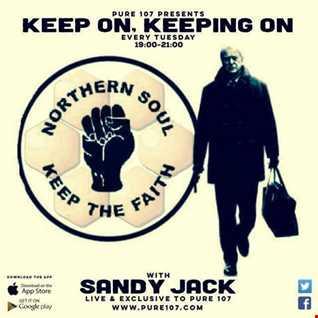 Sandy Jack-keep on keepin on Live on Pure107 21/02/17