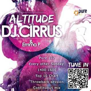 DJ Cirrus & Emma P - Altitude on Pure 107 01.10.2017