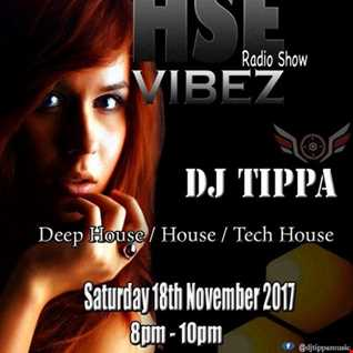 HSE Vibez presented by DJ Tippa live on Pure 107 18.11.2017