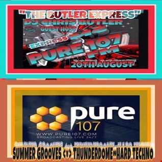 Chris Butler - The Butler Express feat. Express MC live on Pure 107 Sunday 20th August (Part 2)