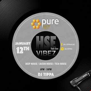 House VibeZ Radio Show Saturday 12th Jan 2019