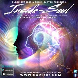 Glenn Burgess & Simon Carter - Inside Soul on Pure 107 02.09.2017