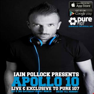 Iain Pollock - Apollo 10 Live On Pure 107 15.10.16