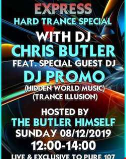 Pure 107  Trance Illusion 8.12.19  PROMO and Chris Butler