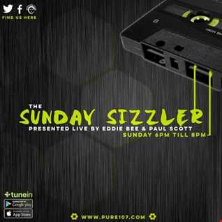 The Sunday Sizzler presented by Eddie Bee live on Pure 107 08.10.2017