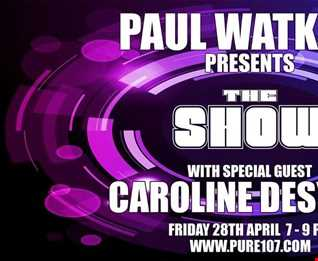 Paul Watkins & Caroline Desykes present the Show