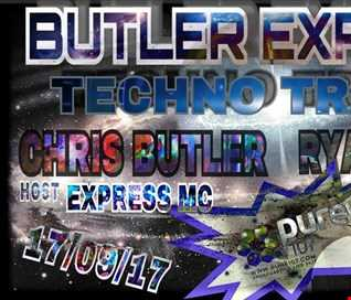 Chris Butler & Express MC - Butler Express feat. Ryan Howard live on Pure 107 Sunday 17th September 2017