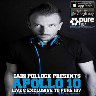 Iain Pollock - Apollo 10 Live On Pure 107 20.08.2016
