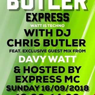 DJ Chris Butler-WATT IS TECHNO? Special guest DjDavy Watt