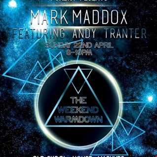 Mark Maddox   The Weekend Warm Down ft Andy Tranter (Sunday 22nd April 2018)