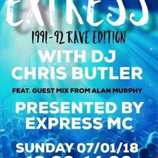 The Butler Express with DJ Chris Butler feat Express MC with special guest Alan Murphy