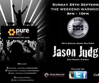 Jason Judge - Weekend Warm Down (EXCLUSIVE) guest mix on Pure 107 24.09.2017