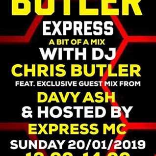 Butler Express - special guest Davey Ash - a bit of a mix