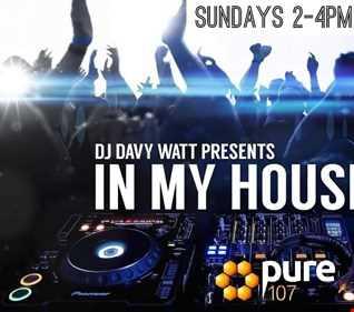 DJ Davy Watt   Sunday 1st july In My House