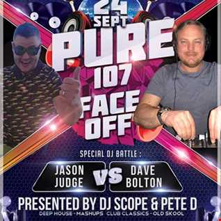 Double D presents - FACE OFF feat. Jason Judge & Dave Bolton live on Pure 107 24.09.2017