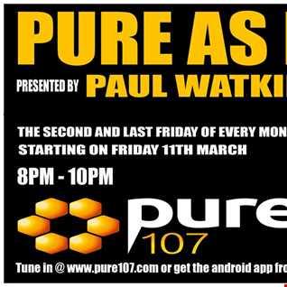 Pure as Funk with Paul Watkins 11/03/16
