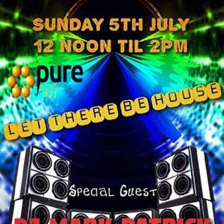 THE BUTLER - DJ Chris Butler - Let There Be House with special guest Mark Patrick