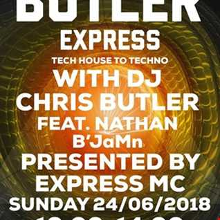 DJ Chris Butler-tech house to techno with special guest Nathan B`JaMn