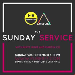 The Sunday Service With Martin Co & Matt King 18/09/16