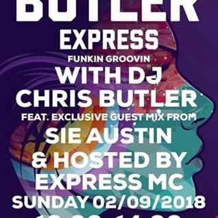 DJ Chris Butler - Funkin Groovin mix with special guest Sie Austin