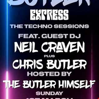 Butler Express - The Techno Sessions feat Neil Craven