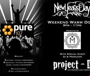 Mark Maddox - The Weekend Warm Down New Years Day Special Feat. Guest Mix From Project D Live On Pure 107 01.01.2017