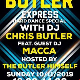 DJ Chris Butler - Hard Dance Special with special guest DJ MACCA