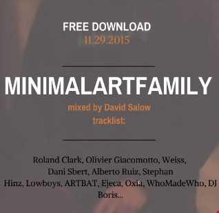 MinimalArtFamily@Live - mixed by David Salow - 11-29-2015