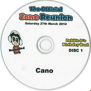 The Official Zone Reunion Debby D's Birthday Bash!   Sat 27th March 2010   CANO's SET