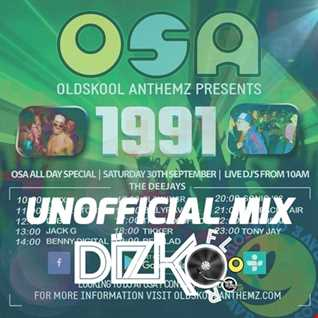 OSA Unofficial 1991 Event Mix