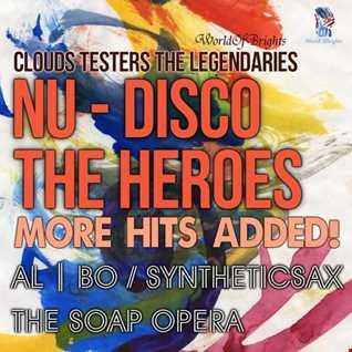 al | bo - Nu-Disco The Heroes: More Hits Added! / Teaser Megamix (2016) WorldOfBrights
